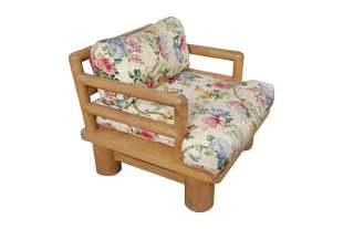 Karl Springer - Dowelwood Lounge Chair