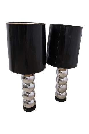 Kovacs - Chrome Stacked Ball Lamp