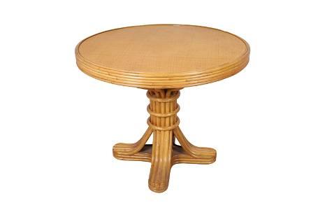 Rattan Center Table