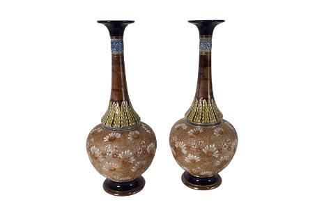 Royal Doulton Vases - Pair