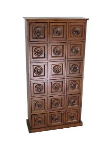 Apothecary Style Pine Cabinet