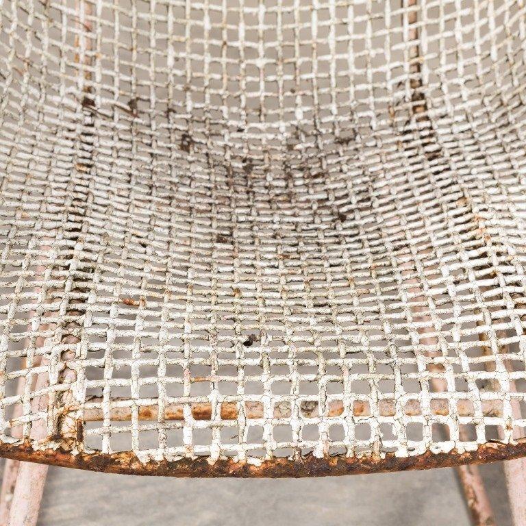 Pair Russel Woodard Sculptura Mesh Chairs - 4