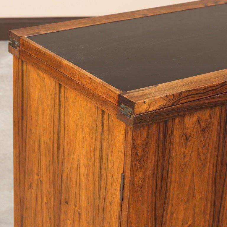 Torbjorn Afdal For Bruksbo Rosewood Bar Cabinet - 2