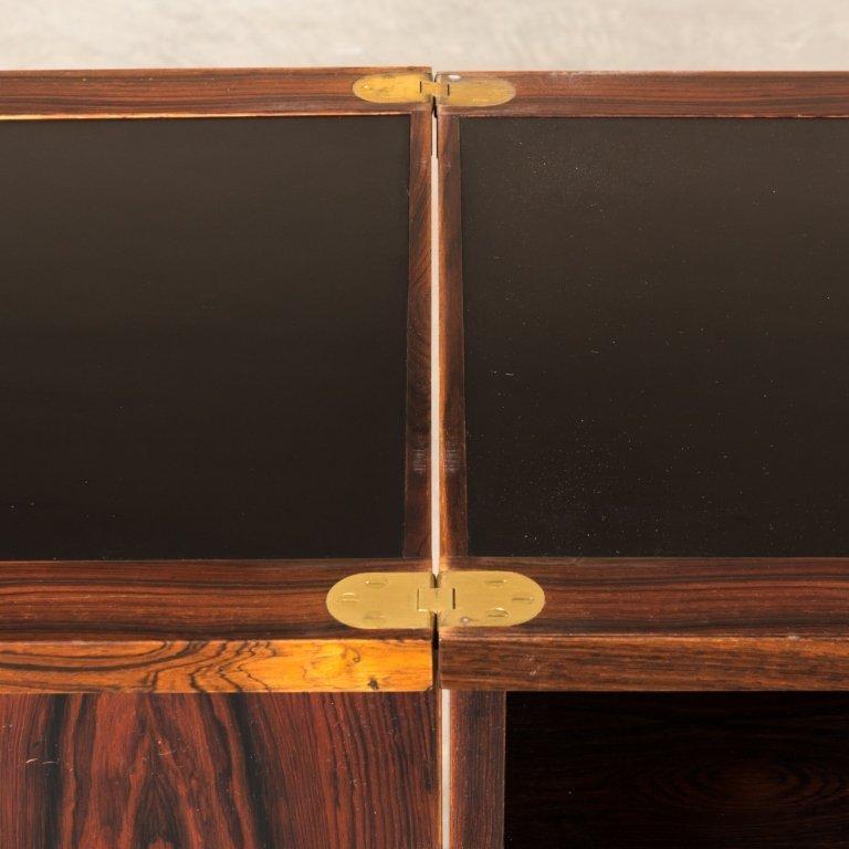Torbjorn Afdal For Bruksbo Rosewood Bar Cabinet - 7