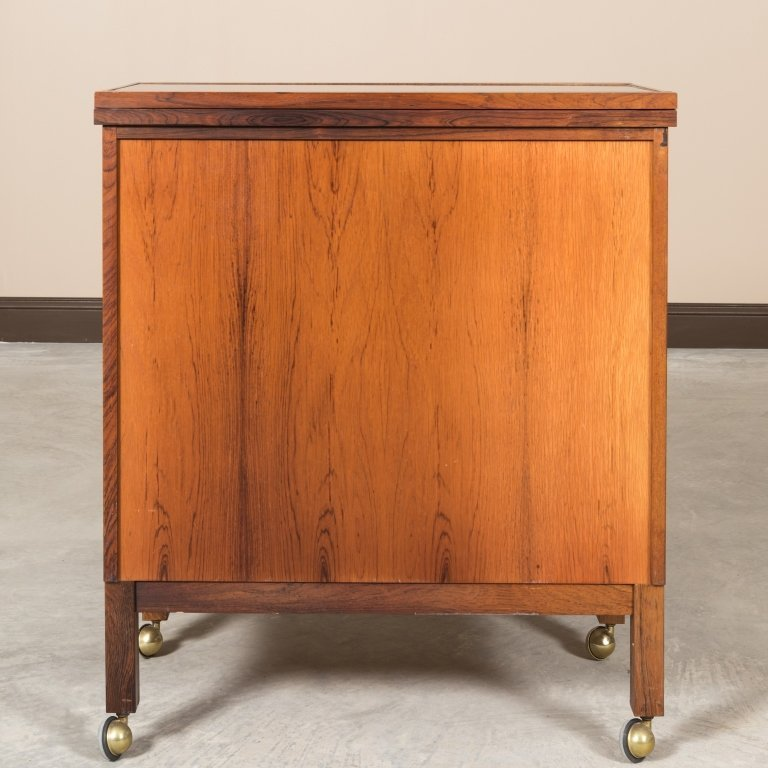 Torbjorn Afdal For Bruksbo Rosewood Bar Cabinet - 8
