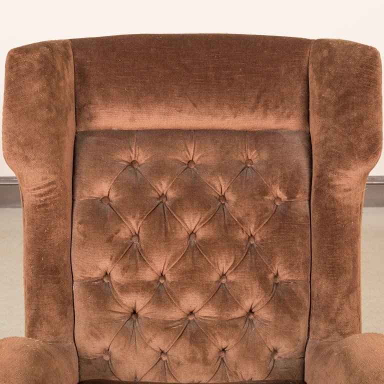 Paola Buffa Style Italian Wing Chair - 3