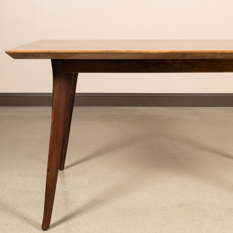 Mid Century Rosewood Dining Table - 2