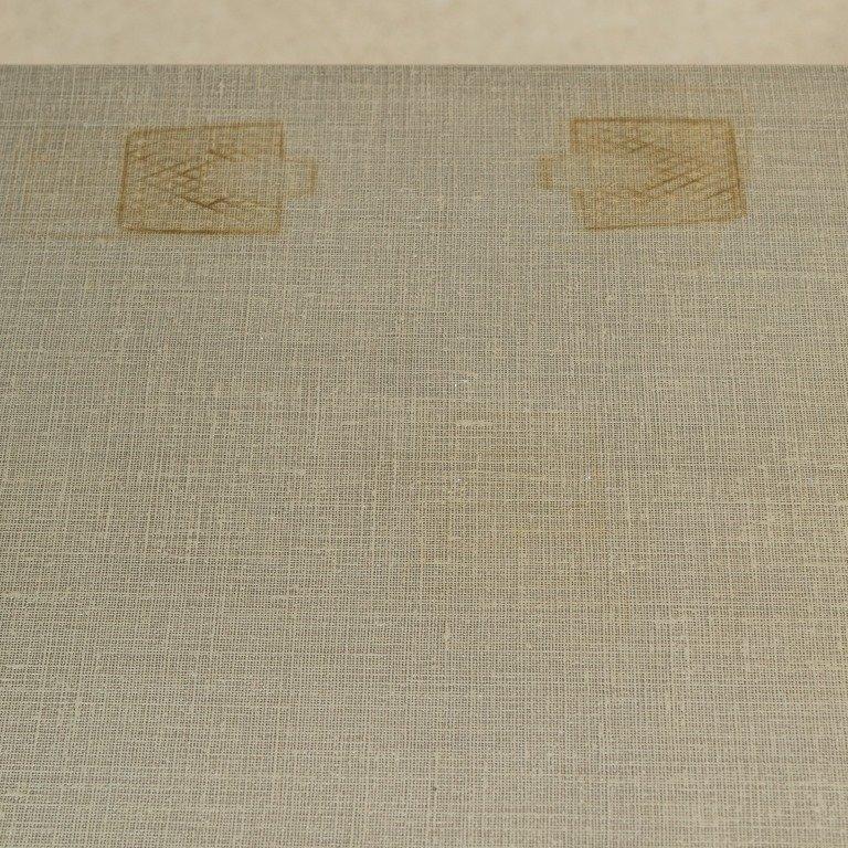 Linen Wrapped Credenza - After Karl Springer - 3