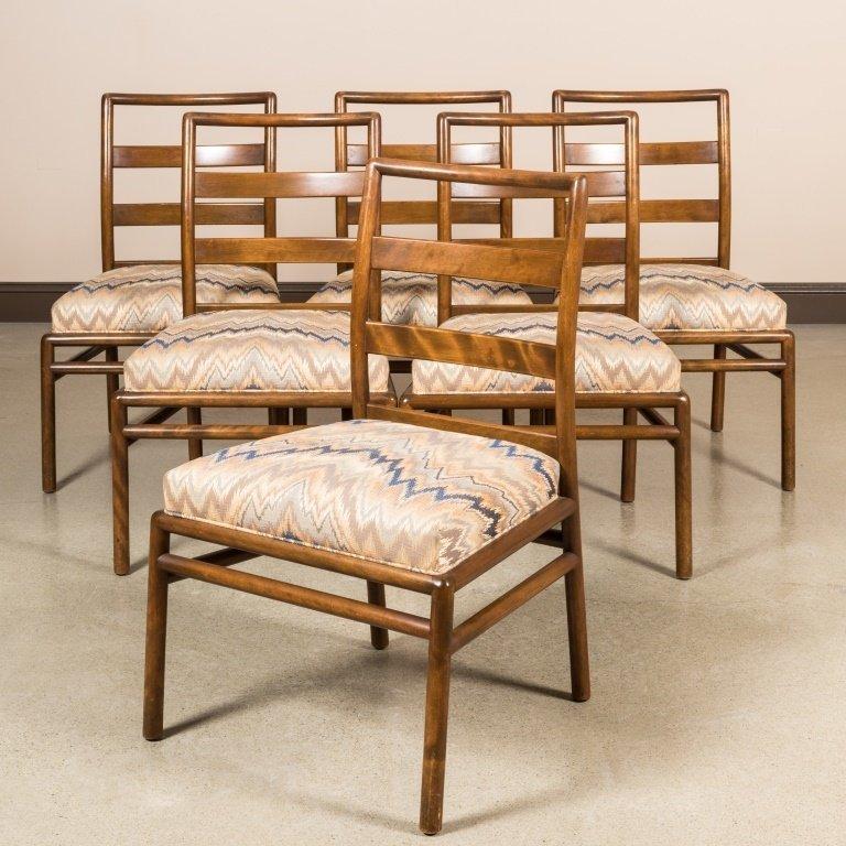 Six Robsjohn Gibbings for Widdicomb Dining Chairs