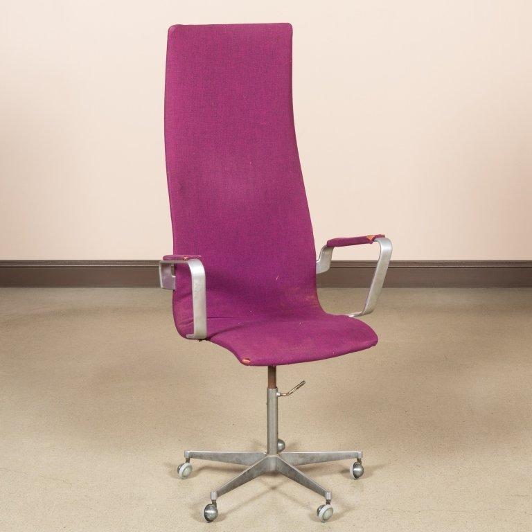 Fritz Hansen High Back Swivel Office Chair