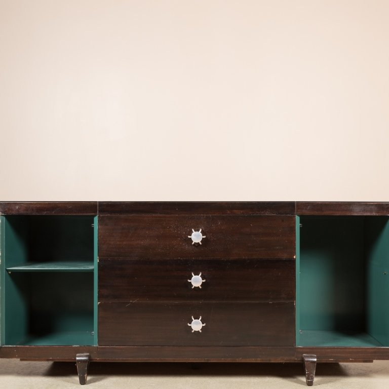Multiplex Credenza by Martin Fenman with Glass Top - 4