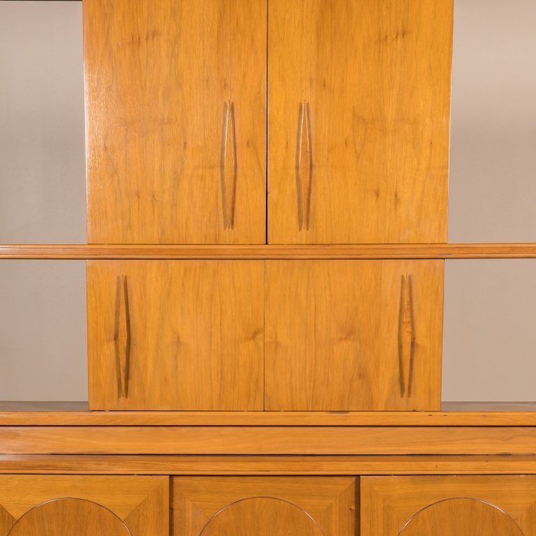 Mid Century Two Part Credenza - 2