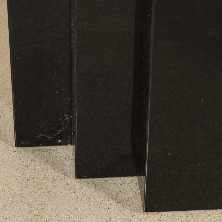 Goatskin and Lacquer Console Table - Aldo Tura - 3