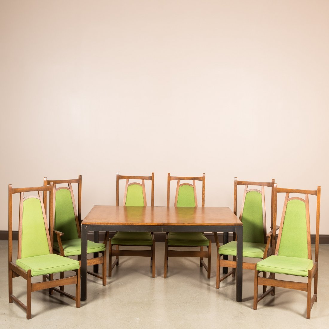 Six Lane Altavista Chairs and Dining Table