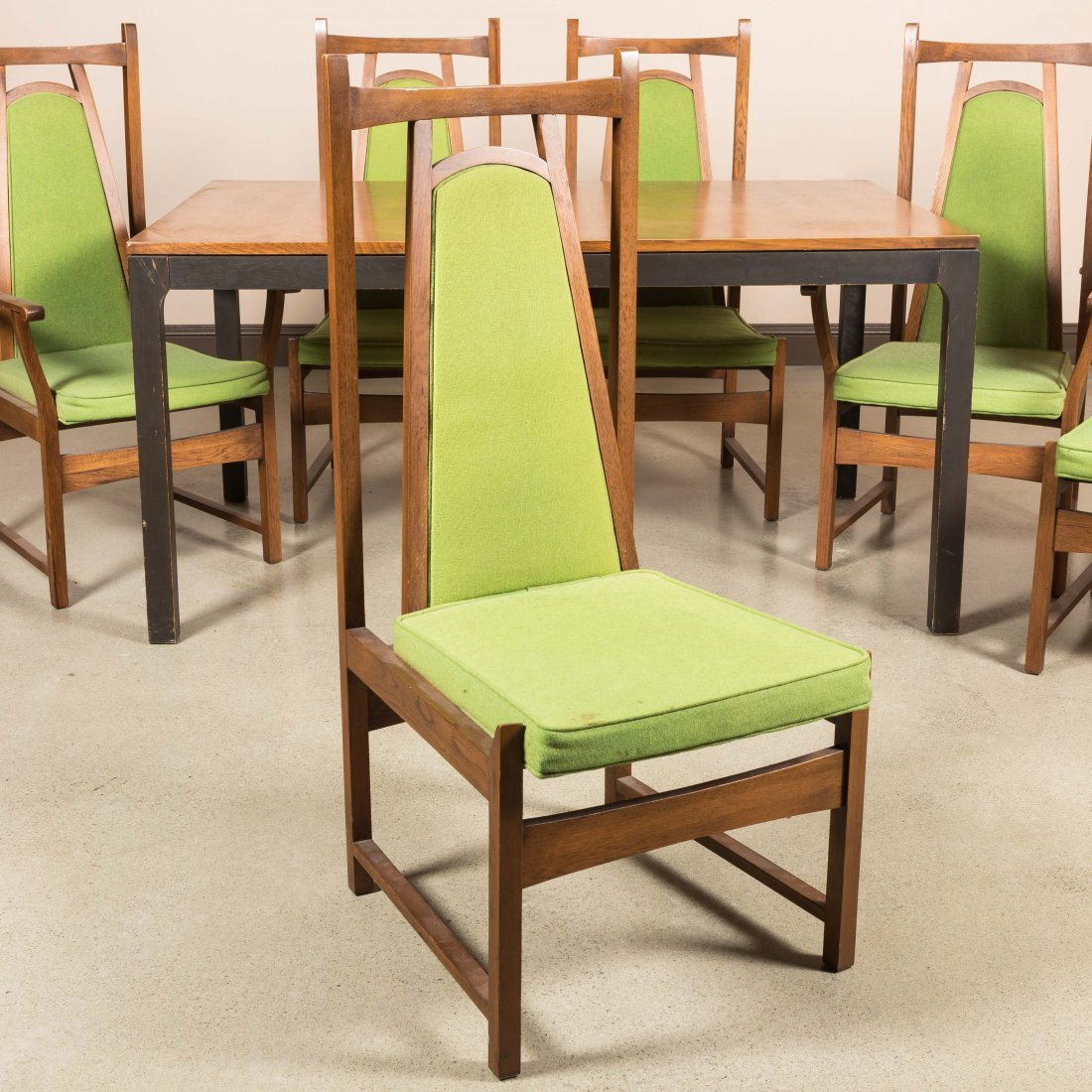 Six Lane Altavista Chairs and Dining Table - 2