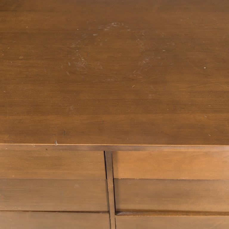 Paul McCobb Eight Drawer Walnut Dresser - 3