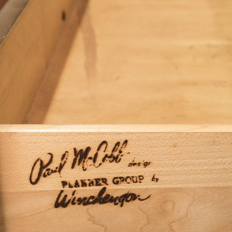 Paul McCobb Eight Drawer Walnut Dresser - 6