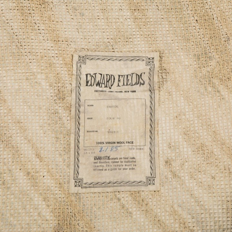 Edward Fields Signed Modern Rug - 3