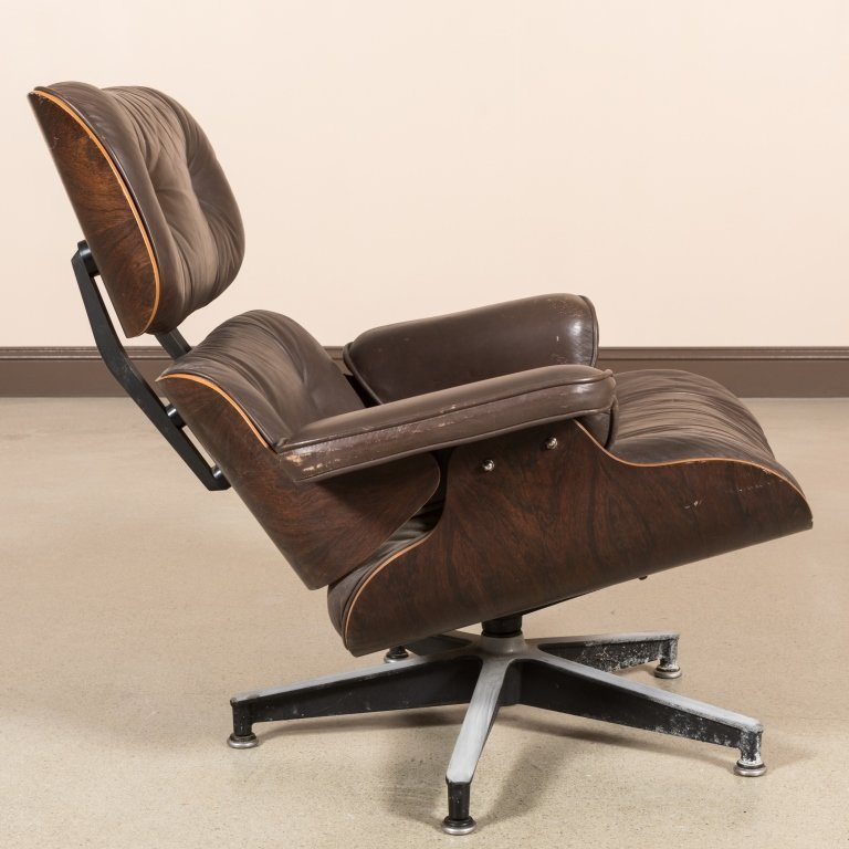 Eames Rosewood 670 Lounge Chair - Signed - 2