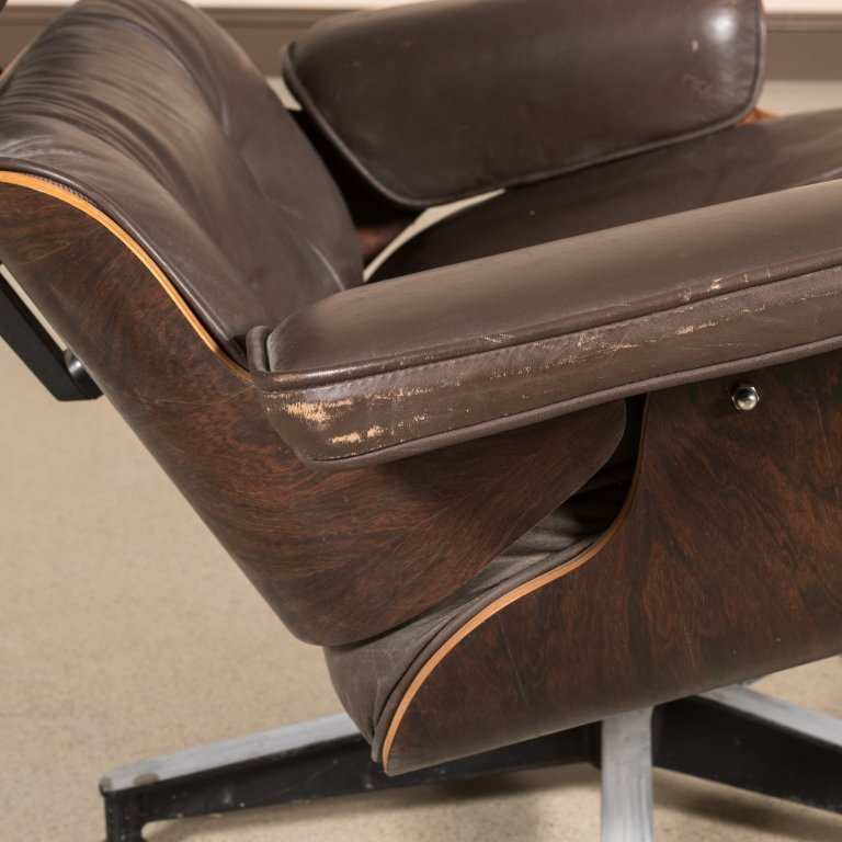Eames Rosewood 670 Lounge Chair - Signed - 3