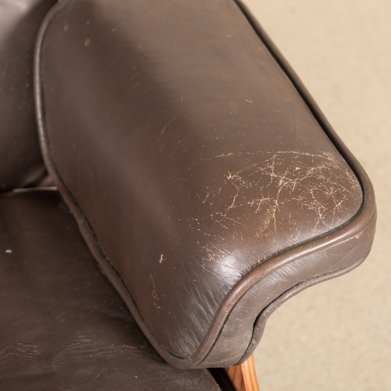 Eames Rosewood 670 Lounge Chair - Signed - 4