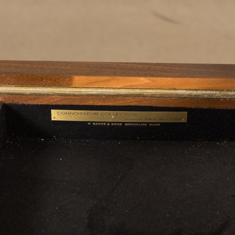 Paul McCobb Connoisseur Collection - Signed Table - 5