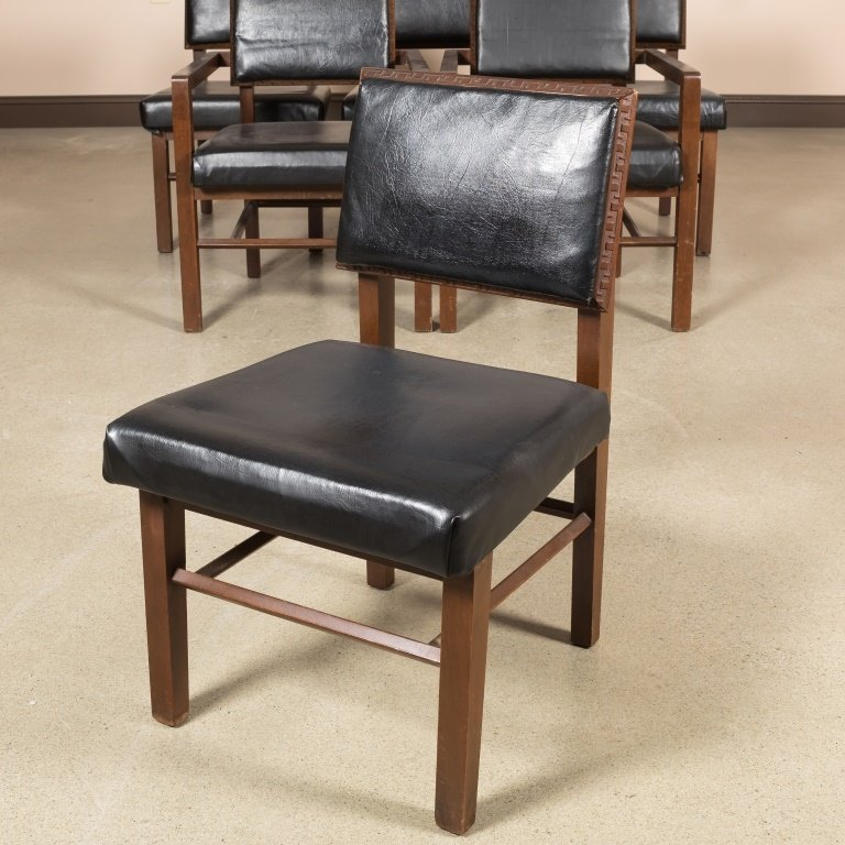 Six Frank Lloyd Wright Dining Chairs for Henredon - 2