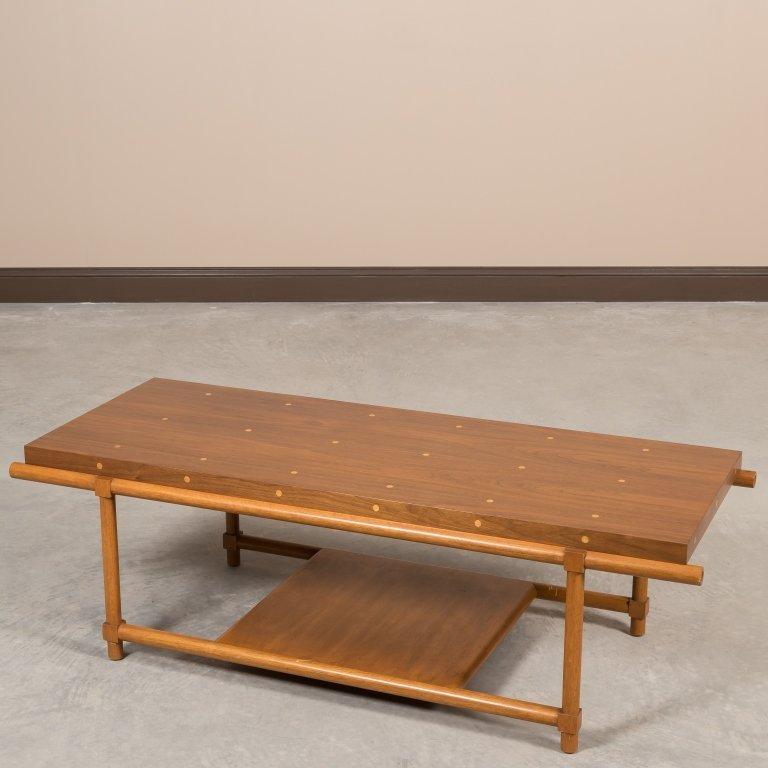 Tommi Parzinger Originals Polka Dot Coffee Table
