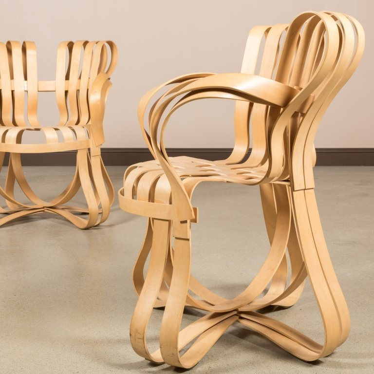 Frank Gehry for Knoll Cross Check Chairs - 6