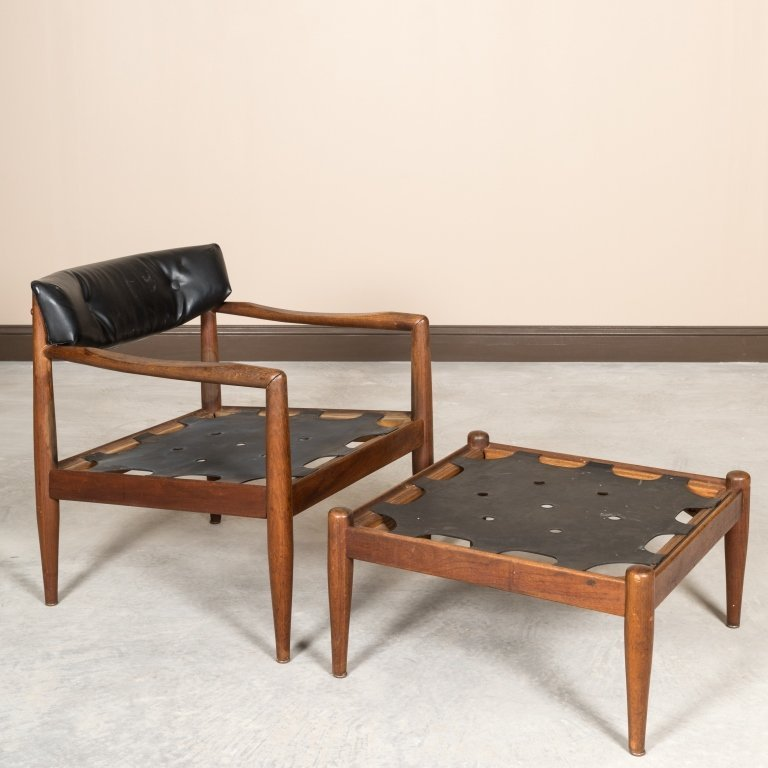 Adrian Pearsall Craft Associates Lounge Chair - 3