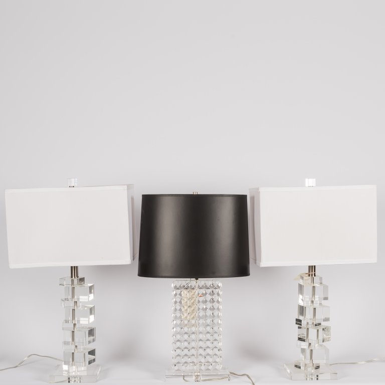 Group of Modern Lamps - Including Robert Abbey
