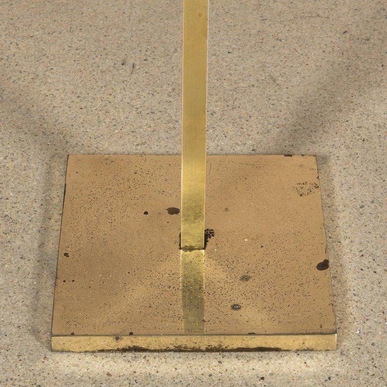 Pair Adjustable Brass Floor Lamps by Laurel - 3