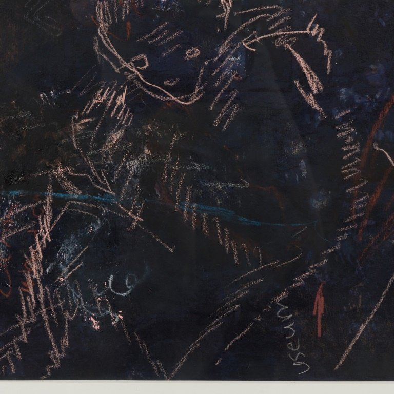 Gail Stack Mixed Media on Lithograph - 2