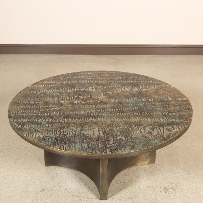 Philip and Kelvin LaVerne Eternal Forest Table
