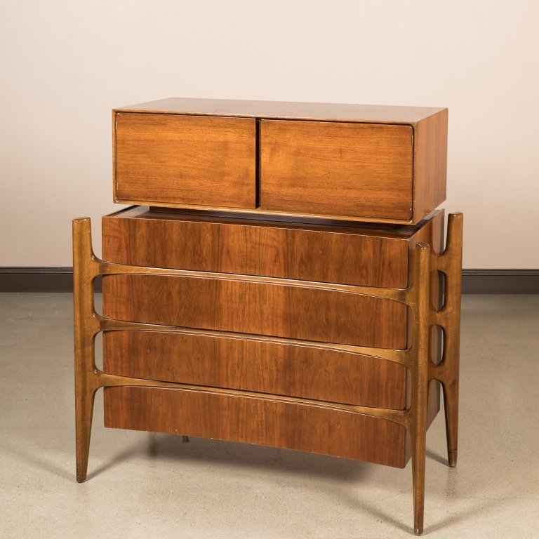 William Hinn Chest on Chest - Signed