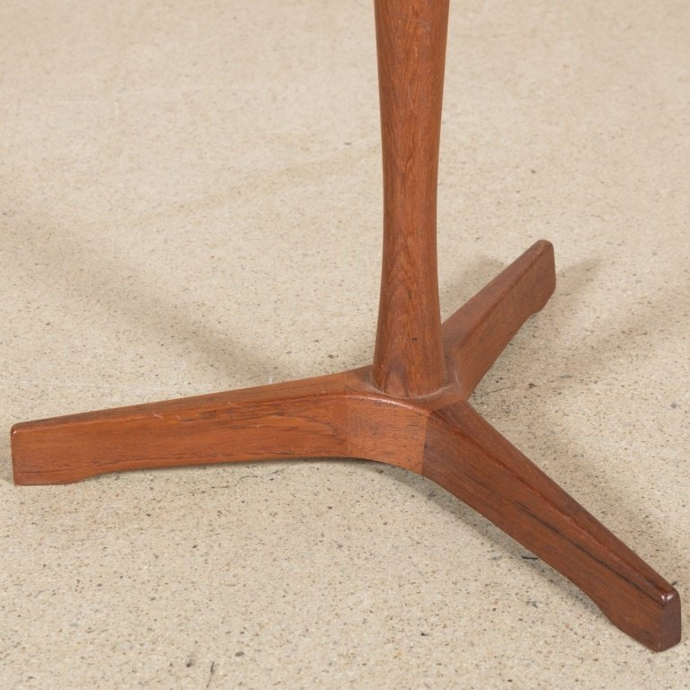 Dansk Danish Teak Diminutive Pedestal Table - 3