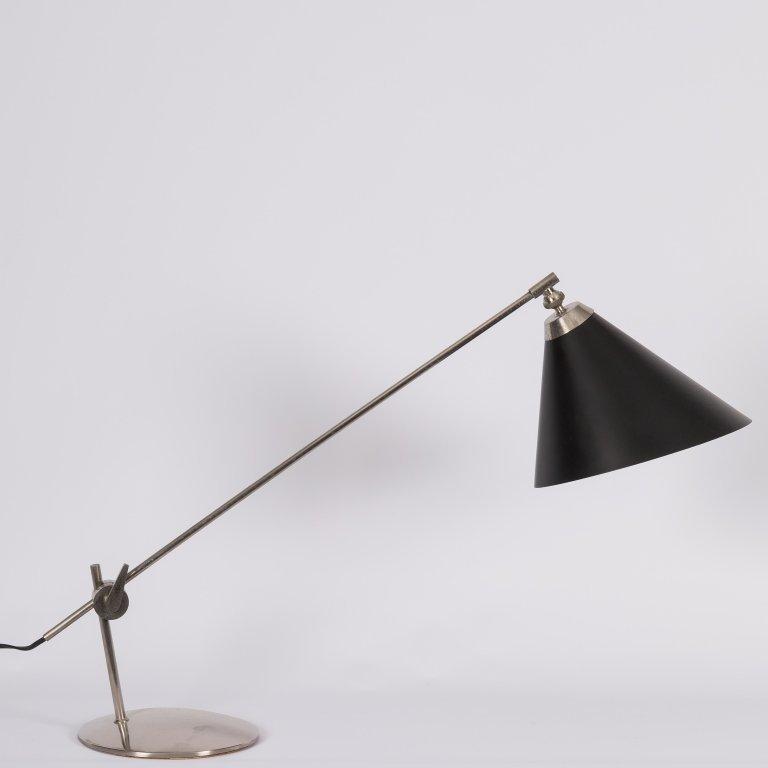 Modern Stainless Steel Counter Balance Desk Lamp