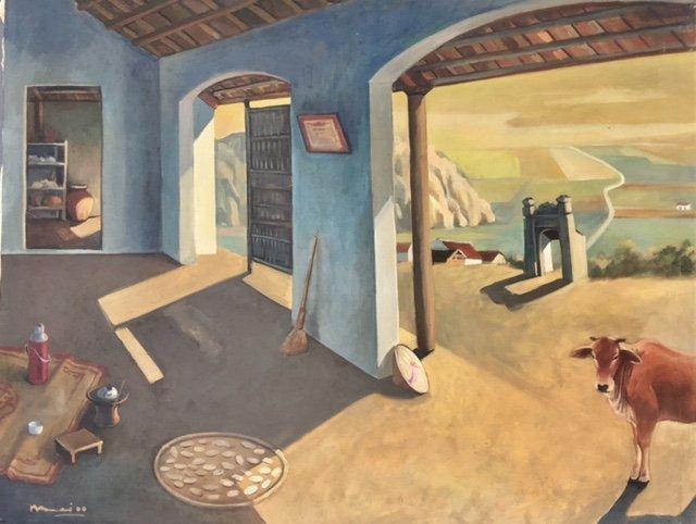 Painting By Bui Hoai Mai- Vietnamese Artist