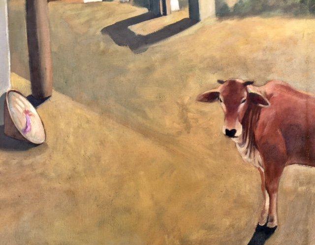 Painting By Bui Hoai Mai- Vietnamese Artist - 2