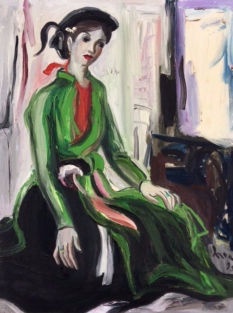 Painting -Bui Suoi Hoa-Vietnamese Artist