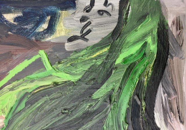 Painting -Bui Suoi Hoa-Vietnamese Artist - 2