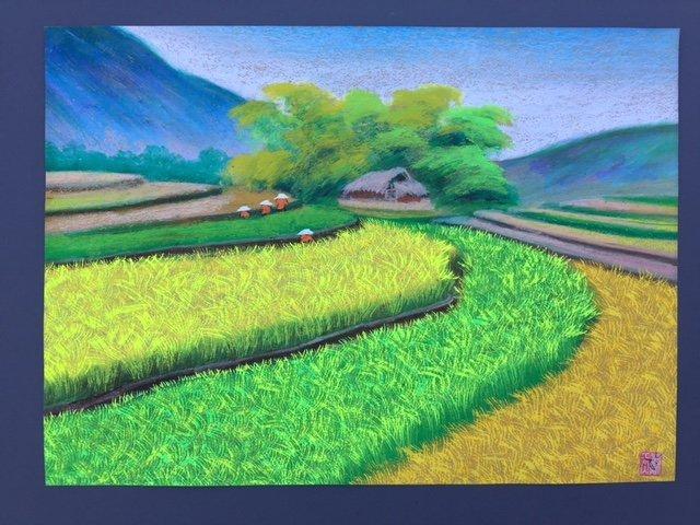 Painting #1-To Ngoc -Vietnamese Artist