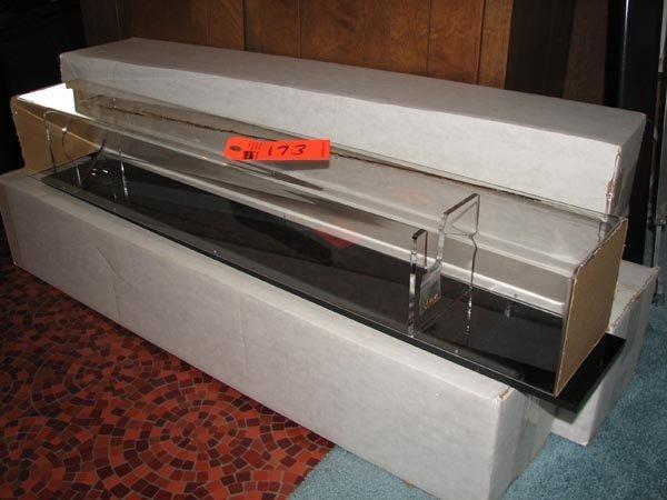 173: Plexiglass baseball bat display cases - 6 included