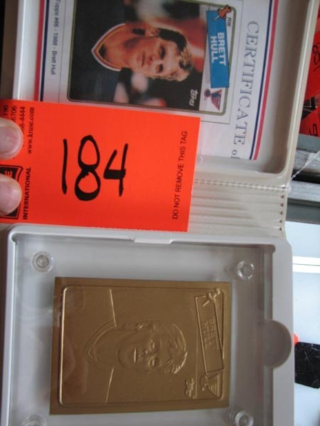 184: Brett Hull Highland Mint Commemorative Limited Edi