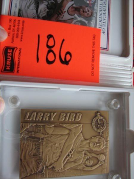186: Larry Bird Highland Mint Commemorative Limited Edi