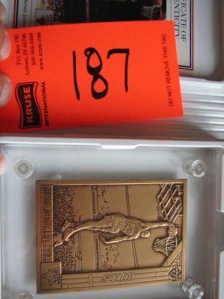 187: Michael Jordan Highland Mint Commemorative Limited