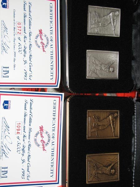 189: Ken Griffey, Jr. & Frank Thomas Silver and Bronze