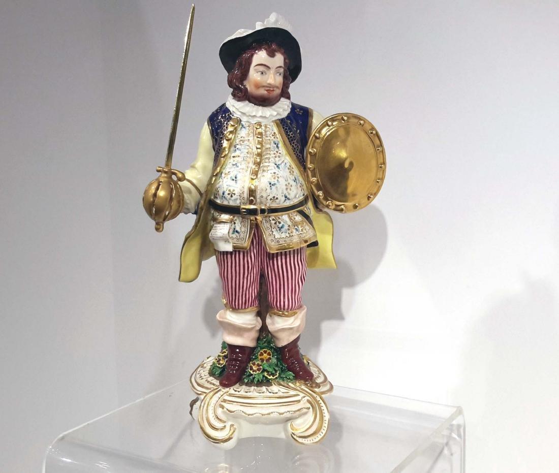 Soft Paste Porcelain Figure of Falstaff, Derby, circa