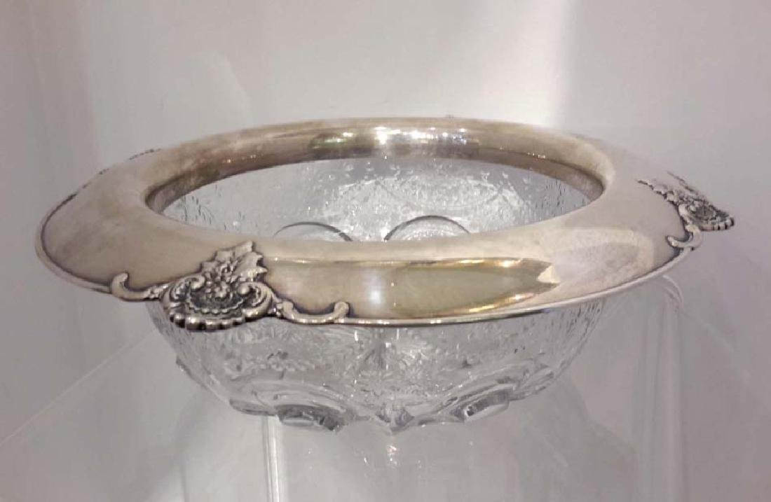 Tiffany & Co. Makers Sterling Silver and Cut Crystal