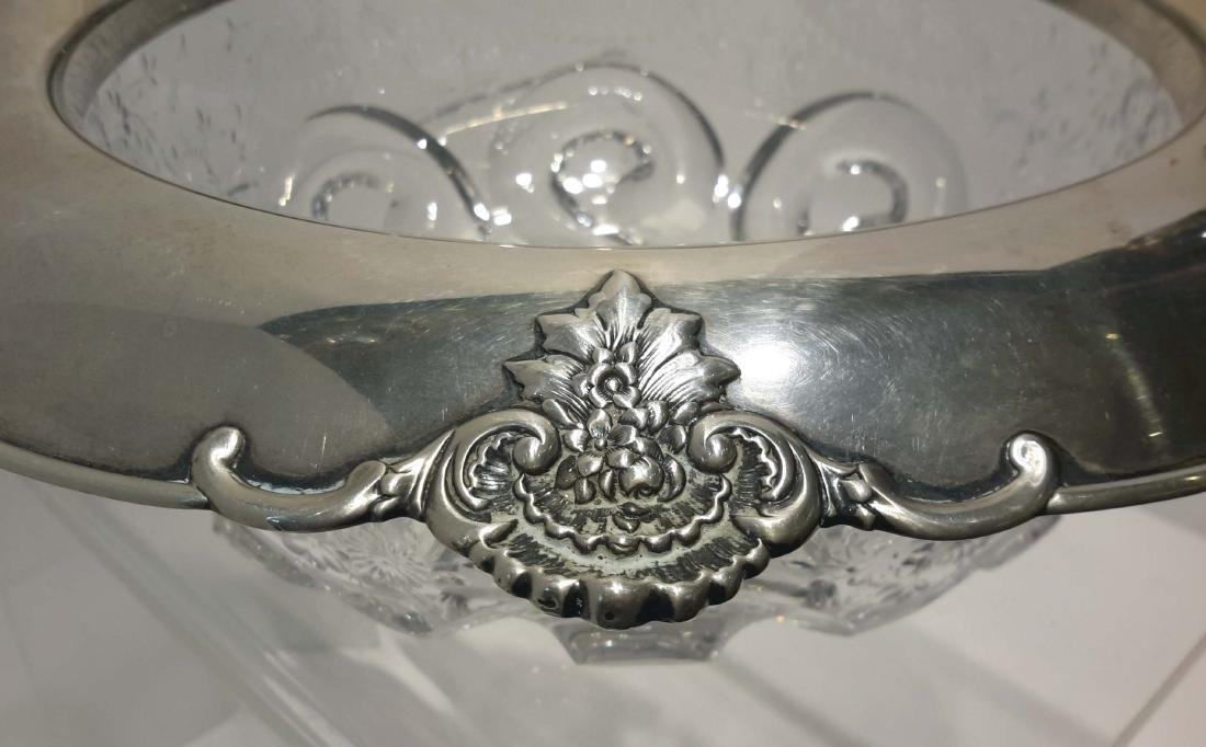 Tiffany & Co. Makers Sterling Silver and Cut Crystal - 3